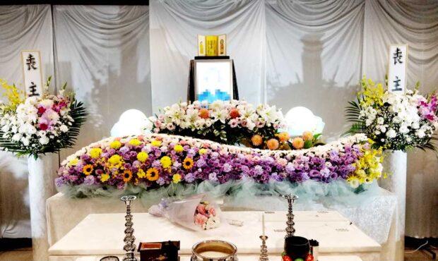 所沢市斎場 家族葬 花祭壇